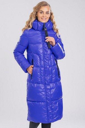 Ярко-синий Женские длинные пальто на синтепухе являются настоящим трендом зимнего сезона. Прямой фасон, увеличенная ширина, однотонная расцветка – все это характерно для того, что представляет собой м