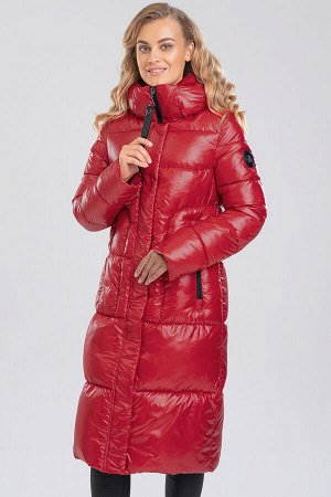 Красный Женские длинные пальто на синтепухе являются настоящим трендом зимнего сезона. Прямой фасон, увеличенная ширина, однотонная расцветка – все это характерно для того, что представляет собой модн