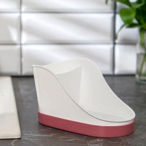 Подставка для моющих средств IDEA, цвет ягодный
