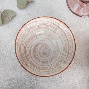 Миска «Искушение», 11,5?5,5 см, цвет розовый