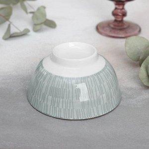 Миска «Искушение», 11,5?5,5 см, цвет серый