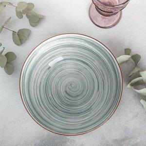Салатник «Искушение», 20,5?9,5 см, цвет серый