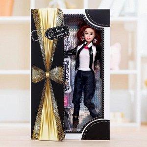 Кукла шарнирная «Топ-модель», с аксессуарами, МИКС