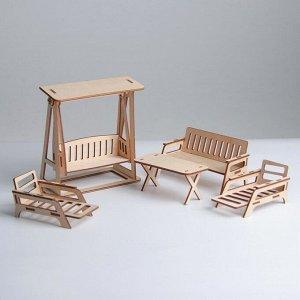 Кукольная мебель «Отдых на даче»