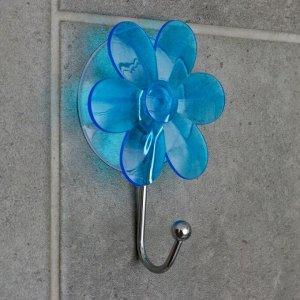 Крючок на вакуумной присоске «Ромашка», цвет МИКС 647904