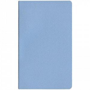 "Блокнот А5 (145х215 мм), HATBER ""MAJESTIC"", 128 л., эко-кожа, без линовки, голубой, 128ББL5В_04225, B223192"