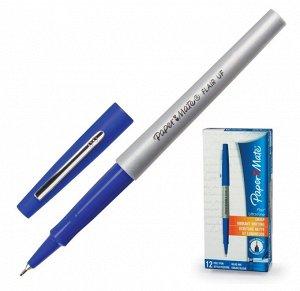 """Ручка капиллярная PAPER MATE """"Flair UF"""", СИНЯЯ, корпус серый, линия письма 0,5 мм, S0901331"""