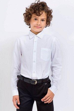 Рубашка Горловина оформлена классическим воротником с V-образным вырезом. Застежка на пуговицы. Втачные короткие рукава. Длина рубашки на 31/32 размер - 52 см, обхват груди - 72 см. Длина рубашки на 3