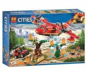 Конструктор Lari 11214 City - Пожарный самолёт