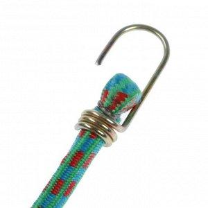 Резинка крепления TORSO 60 см, d 10 мм, металлические крючки, микс