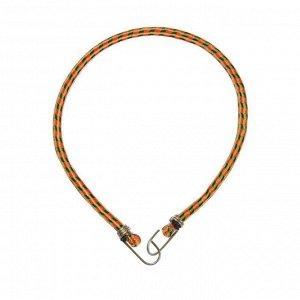 Резинка крепления TORSO 80 см, d 10 мм, металлические крючки, микс