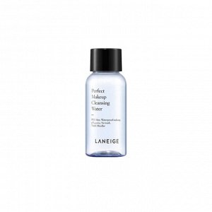 LANEIGE Perfect Makeup Cleansing Water. Увлажняющая слабокислотная мицеллярная вода 30 мл