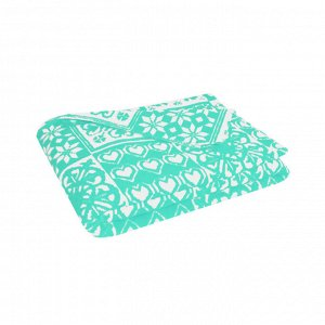 Одеяло взрослое байковое жаккард 212*150 см