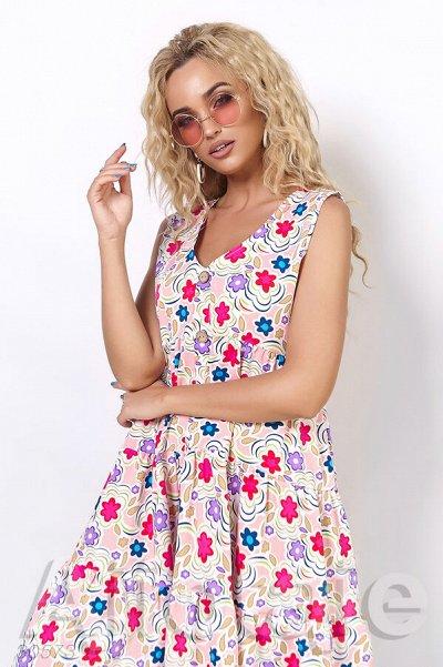 AJIOTAJE Яркое лето 2021 🌺 женская одежда — Платья средней длины…