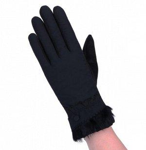 Перчатки утепленные, непромокаемые, черный