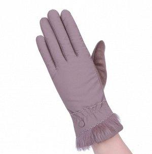 Перчатки утепленные, непромокаемые, темный беж