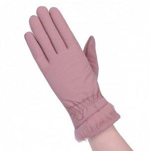 Перчатки утепленные, непромокаемые, розовый