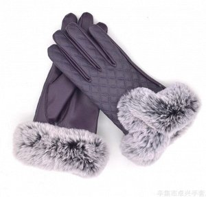 Перчатки, фиолетовый