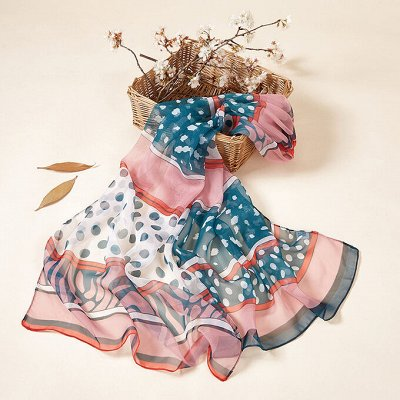 По просьбам! Любимые Водолазки и платки от 196 руб — Невесомые шарфики — Шарфы