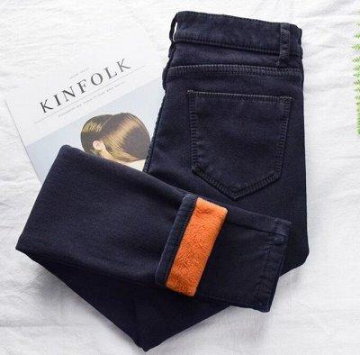 Распродажа ПУХОВИЧКОВ❄️перчатки, шапки, шарфы❄️СКОРО ЗИМА — Утепленные леггинсы и джинсы — Леггинсы и лосины