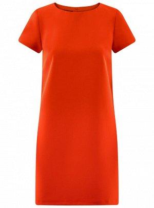 Платье прямое базовое