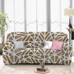 Чехол на диван трехместный ЧХТР071-13323, 195-230 см                              (s-104755)
