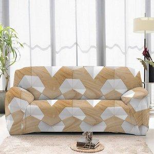 Чехол на диван трехместный ЧХТР071-13324, 195-230 см                              (s-104756)
