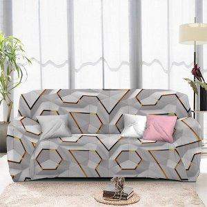 Чехол на диван трехместный ЧХТР071-13325, 195-230 см                              (s-104757)
