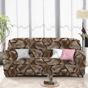 Чехол на диван трехместный ЧХТР071-13336, 195-230 см                              (s-104763)
