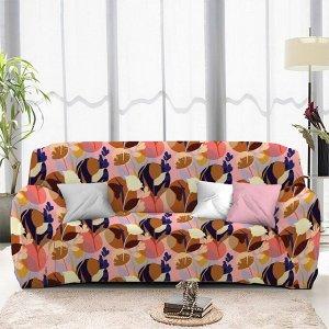 Чехол на диван трехместный ЧХТР071-16889, 195-230 см                              (s-104769)