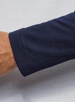 Футболка базовая с длинным рукавом реглан