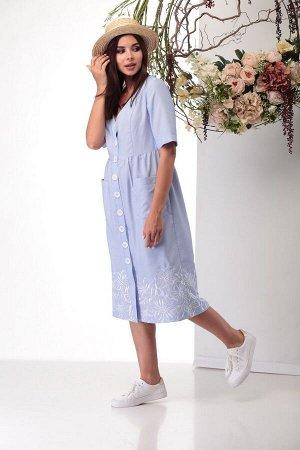 Платье Michel chic 2004 голубой