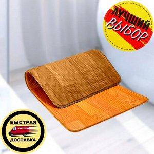 Двухсторонний ПВХ коврик для кухни и ванной Onebin M 94*44*1.4