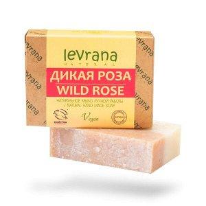 Натуральное мыло ручной работы Дикая роза | 100 гр