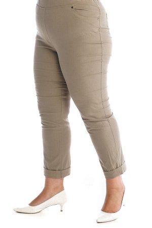 Брюки-2377 Модель брюк: Прямые; Материал: Хлопок стрейч;   Фасон: Брюки Брюки джинса с отворотом хаки Брюки-стрейч отлично подойдут для повседневного гардероба. Модель хорошо сидит за счет комфортной