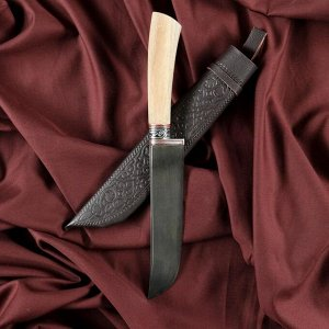 Нож Пчак Шархон - Дерево, средний (гарда гравировка)
