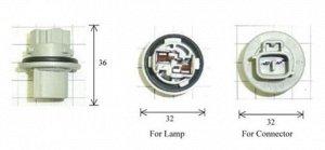Разъем для лампы дополнительного освещения T20 W3x16d  C1881A