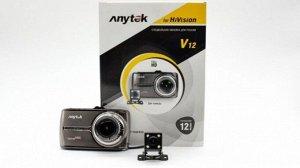"Видеорегистратор ""Anytek for HiVision"" V12 2-х камерный"