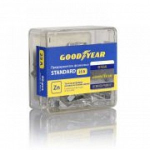 "Набор флажковых предохранителей Goodyear ""стандарт"" 25A (50шт) GY003065"