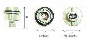 Разъем для лампы дополнительного освещения G18 BA15s  C3453A