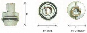Разъем для лампы дополнительного освещения S25 BA15s  C4571C