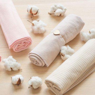 Байковые одеяла из 100% хлопка по самым низким ценам! — Детские пеленки — Постельное белье