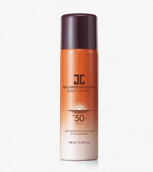 JayJun Солнцезащитный спрей Real Water Brightening Black Sun Spray SPF 50+ PA ++++