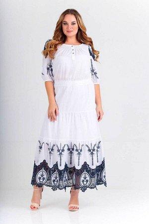 Платье Euromoda Артикул: 276 белый