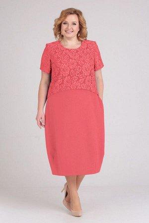 Платье ELGA Артикул: 01-594 коралл