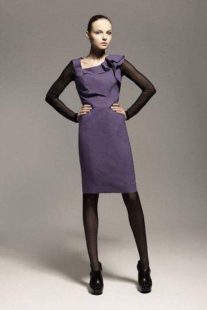Блуза, сарафан Favorini Артикул: Ф2428 фиолет+черный
