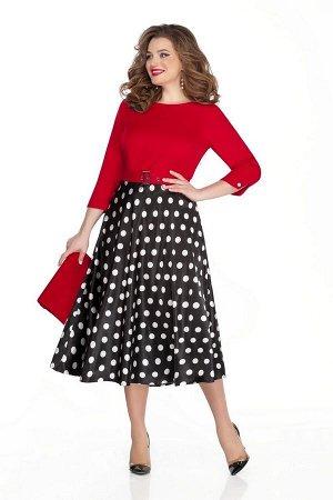 Платье TEZA 323 красный