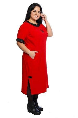 Платье Левлада Артикул: 222 красный