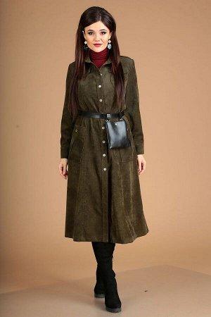 Платье Мода Юрс Артикул: 2510 зеленый