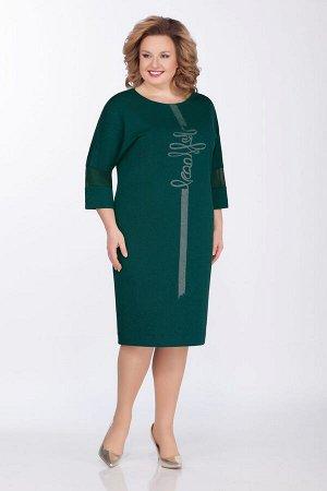Платье GALEREJA Артикул: 601 зеленый_трикотаж